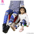 Explosion Winter Digital Printing Leggings High Waist Elastic Mother And Children Leggings  Pencil Pants  2092