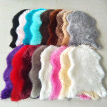 Artificial Sheepskin Shaggy Faux Fur Carpet Area Rug Bedroom Home Decorative White Wine Red Brown Black Pink Grey Coffee Blue цена