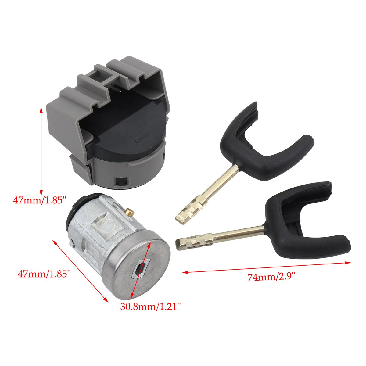 vehicle parts accessories brand new starter ignition switch wiring ford transit mk3 mk4 mk5 1985 2000 [ 1200 x 1200 Pixel ]