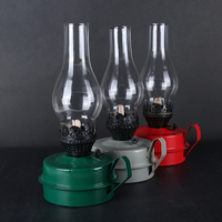2017 Latest Russian Style Retro Classic Kerosene Lamp Camping Hiking Lamp Holder Candle Lantern Tent Lamp