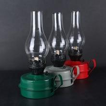 2019 mais recente estilo russo retro clássico querosene lâmpada de acampamento & caminhadas suporte da lâmpada vela lanterna tenda filme tiro adereços