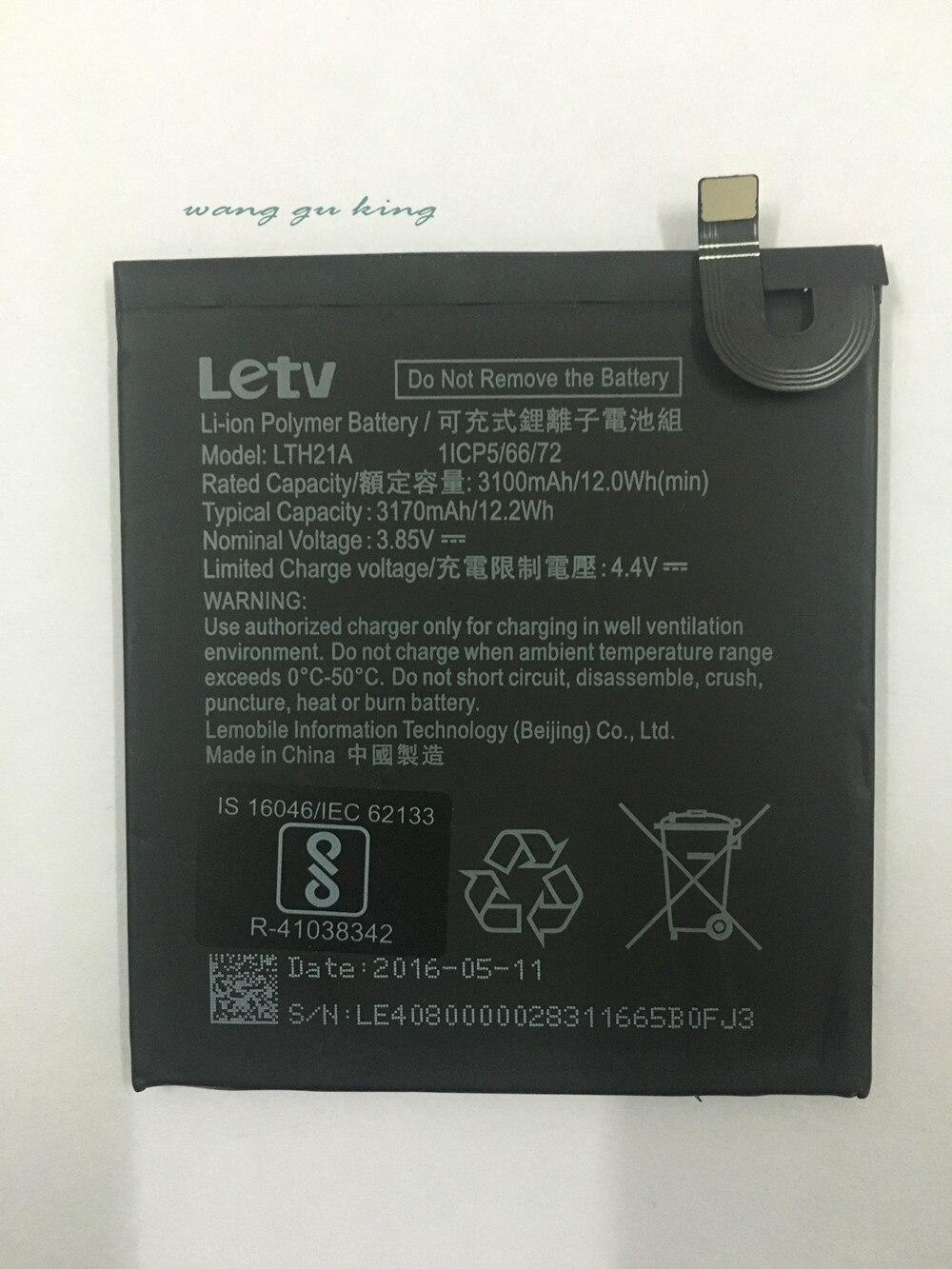 3.85V LTH21A 3100mAh pour Letv LeEco LeMax2 X822 X829 Le téléphone Le MAX 2/5. 7 pouces/X821 X820 batterie de remplacement de téléphone portable