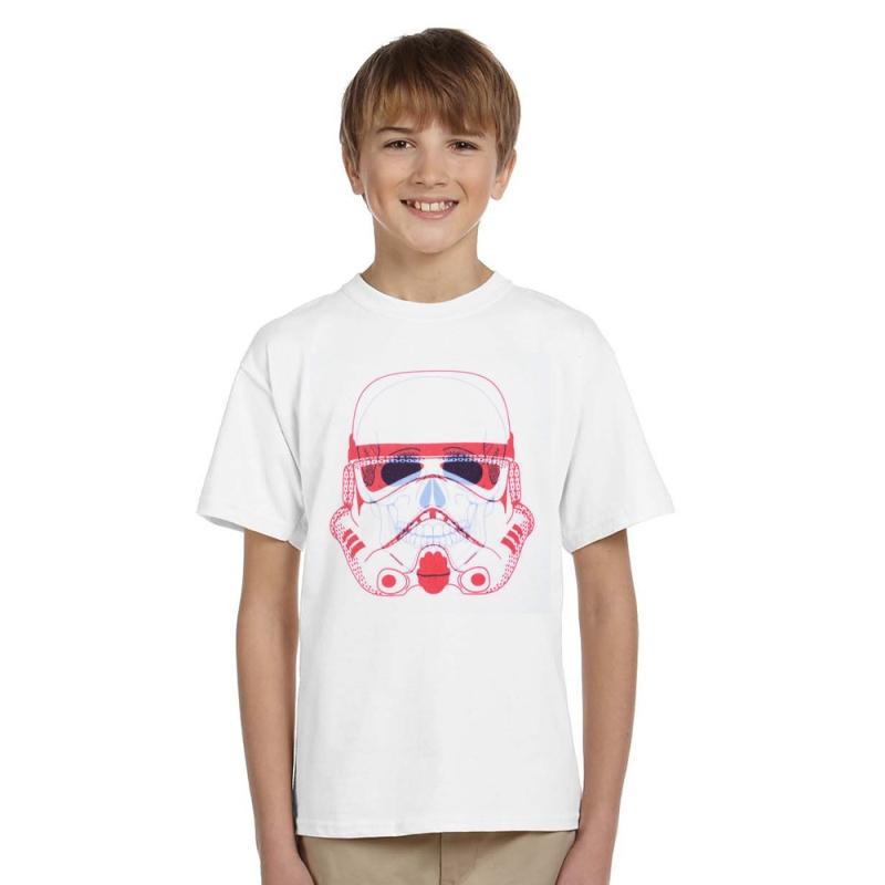 New 1-12years new summer short sleeve cotton t shirts boys star war cartoon teenage big children t-shirt kids tops boys t-shirt 2