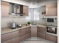 High Gloss Lacquer Kitchen Cabinet Mordern LH LA043