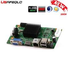H265/H264 16CH* 5MP NVR сетевой цифровой видео регистратор 1 SATA кабель обнаружения движения P2P CMS XMEYE безопасности
