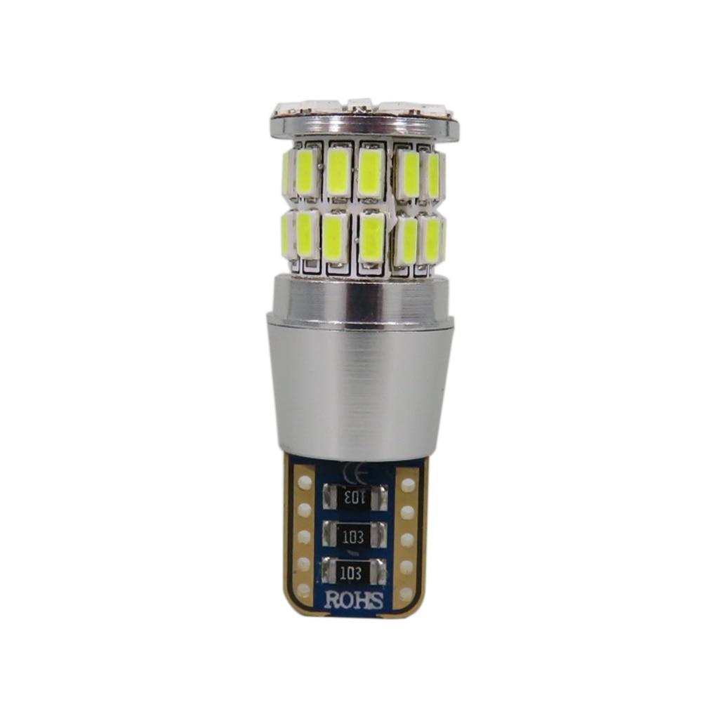 WLJH 2x Canbus 5W W5W LED T10 Светлина 38 3014 SMD 12V - Автомобилни светлини - Снимка 3