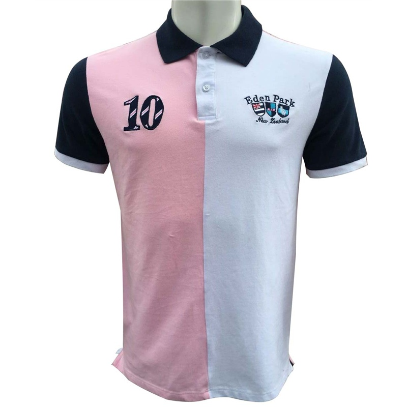 Best selling france Brand Eden park Embroidery Men's Cotton   Polo   shirt For Men Slim Camisa   Polos   Shirts man big Size M-3XL