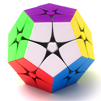 Lefun 2x2 Megamin Magic Cube Stickerless 2Layer Wumofang Professional Puzzle Speed Cubes Educational Special Toys For Children 1