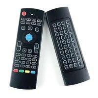 Đèn nền Air Chuột Wireless Mini Keyboard với Phím Đèn Nền MX3 Phổ Điều Khiển Từ Xa cho Android TV Box IPTV Xbox Gamepad HTPC
