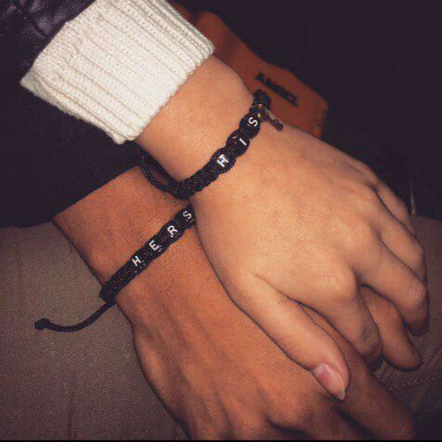2pcs/pair Couple Bracelets His And Hers With Key Lock Lovers Personalized Gift Rope Chain Handmade Charm Men Bracelets Accessory 2