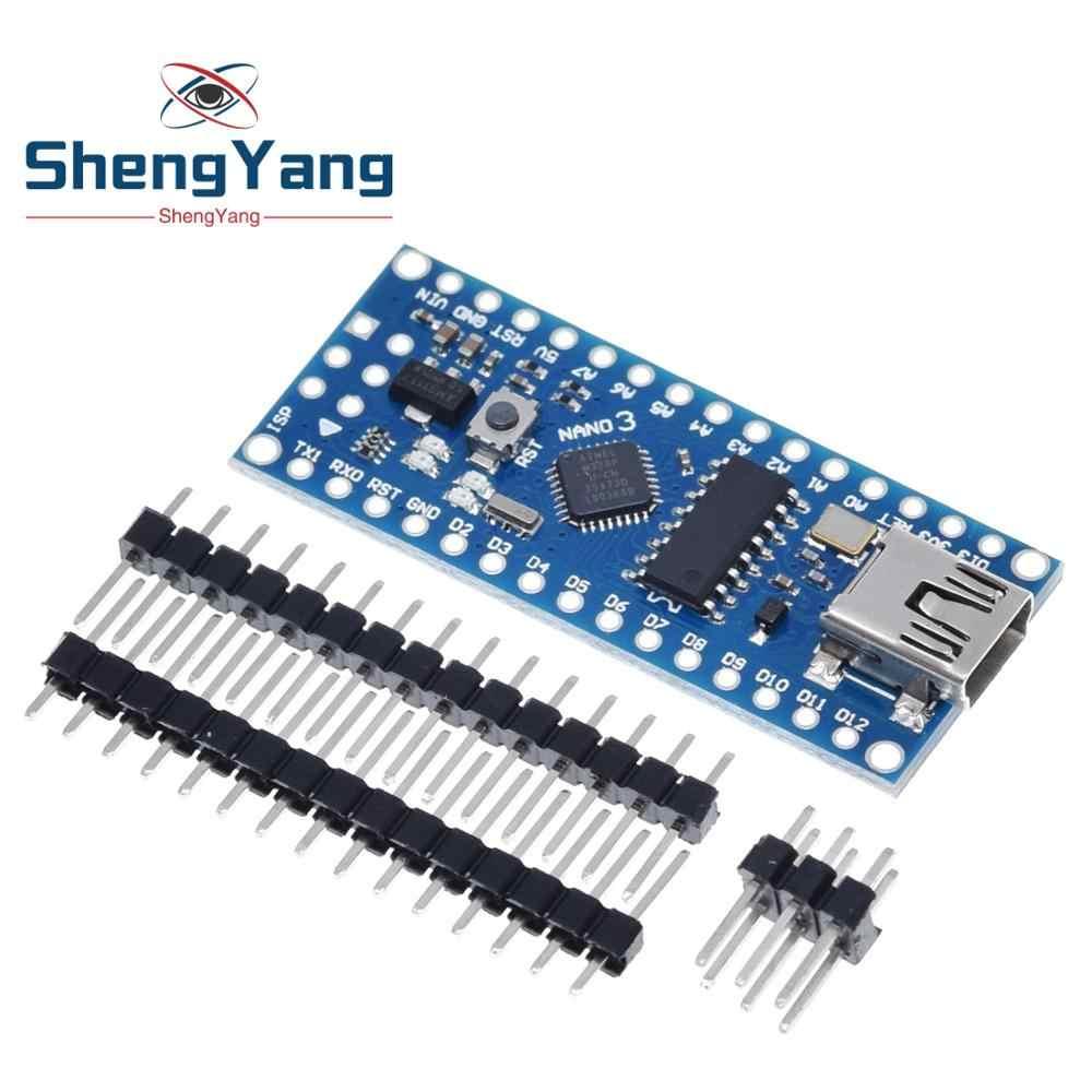 Nano avec le chargeur de démarrage compatible Nano 3.0 contrôleur pour arduino CH340 pilote USB 16Mhz Nano v3.0 ATMEGA328P/168P