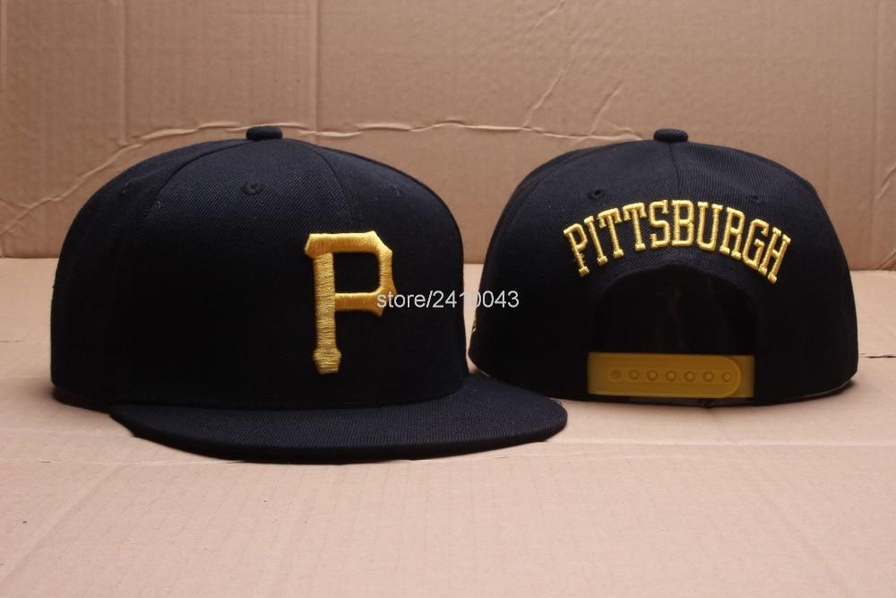 ... ireland 59fifty cap pittsburgh pirates cor preta borda plana snapback  chapéus esporte amarelo letra p nome ... 0f2c99dfcd6
