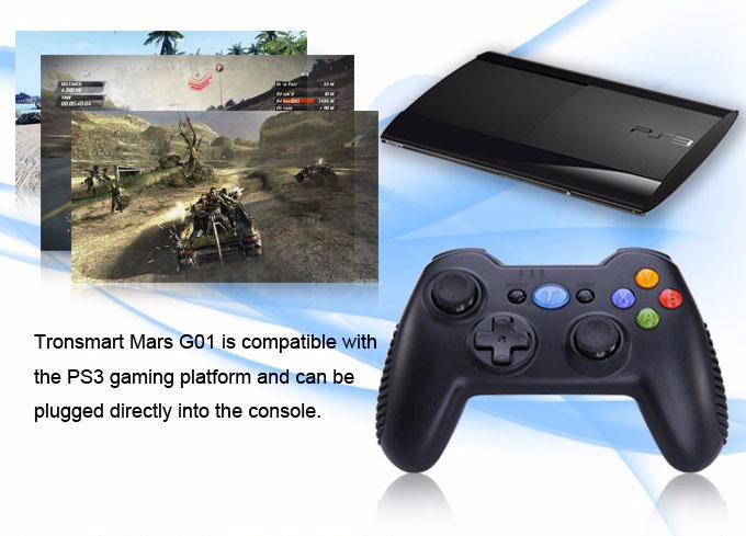 Tronsmart Mars G01 2.4GHz Wireless Gamepad for PlayStation 3 PS3 Game Controller Joystick for Android TV Box Windows (15)-1