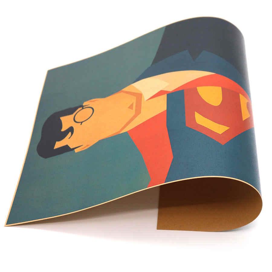 USA الفيلم سوبر hero خمر ريترو المشارك ورقة ملصق فنون جدارية العتيقة اللوحة غرفة المعيشة ديكور المنزل مقهى بار 42x30 سنتيمتر