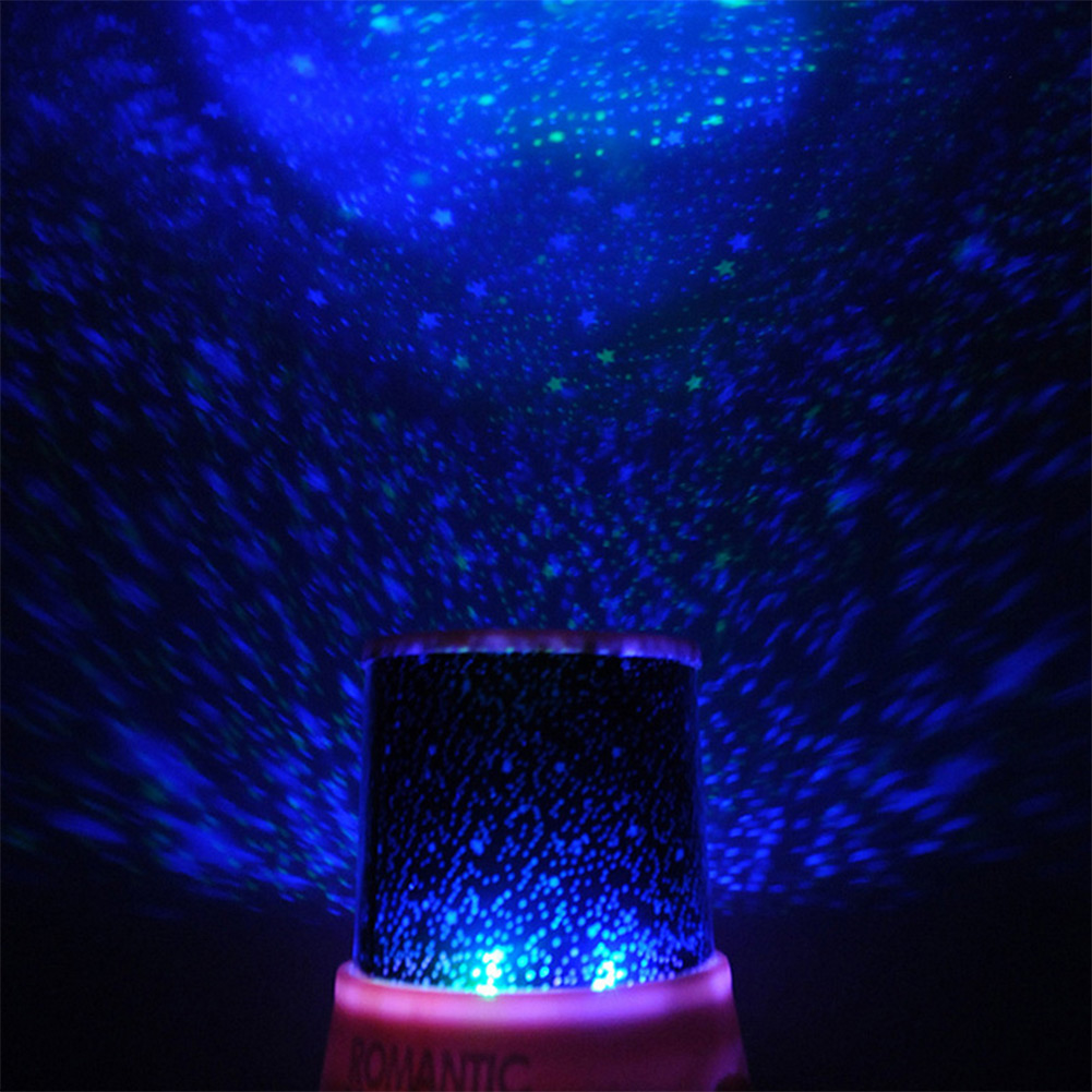 Star projector lamp night - Modern New Hot Magic 4 Led Sky Star Starry Sky Projector Night Light Lamp Nursery Home