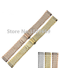 Watch band 13mm 18mm Metal Stainless Steel Watchband BANDS Strap Bracelets for L4.708.4.11.6