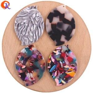Image 4 - Cordial Design pour bijoux, 32x46mm, 50 pièces, accessoires pour fabrication de bijoux, forme ovale, acide acétique bijoux à bricoler soi même