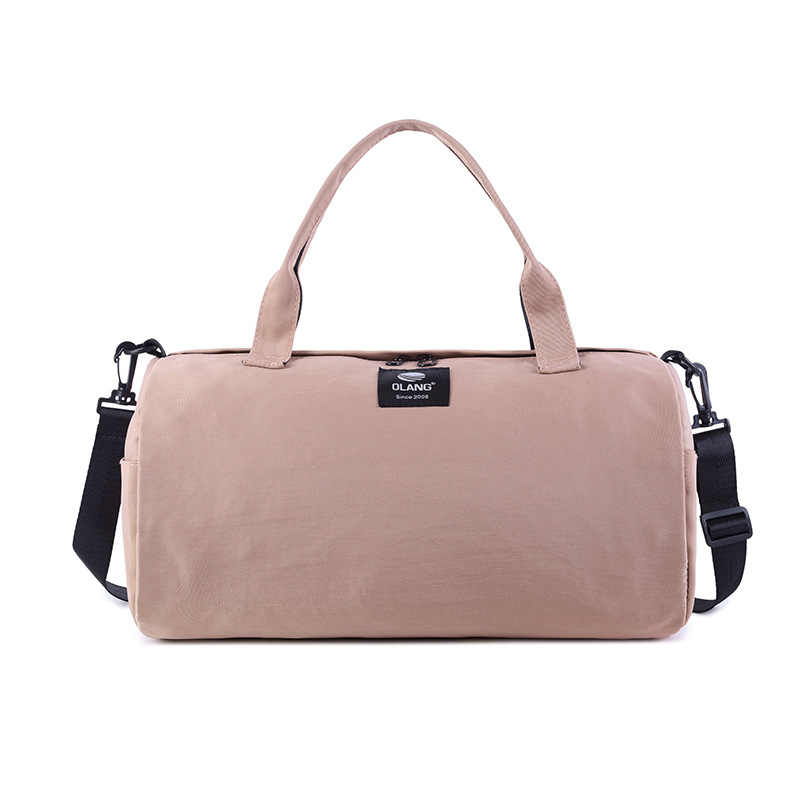 a138166a44b 2019 Canvas Women s Travel Bags Yoga Gym Bag for Fitness Shoes Handbags  Shoulder Crossbody Pouch Women