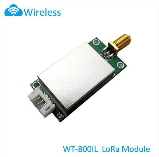 SX1276 Micro-power spread spectrum wireless module WT-800IL LoRa RF module 3~5km sx1278 wireless transceiver module lora spread spectrum communication pa 0 5w high power 433m ultra long distance