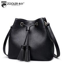 ZOOLER 2017 NEW women leather bag bucket stylish genuine leather handbags bolsa feminina classic luxury quality designer#2666