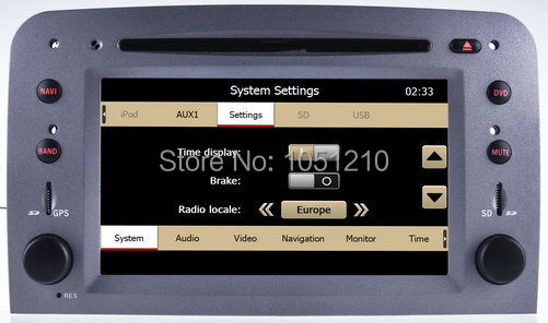 Ouchuangbo Car DVD radio sat navi for Alfa Romeo GT 2007 with iPod GPS bluetooth SD  factory price OCB-8805 auto car usb sd aux adapter audio interface mp3 converter for alfa romeo alfa giulietta non navi 2010 fits select oem radios