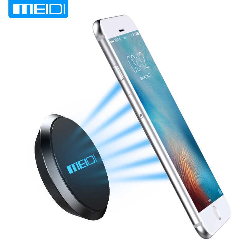 MEIDI מיני מגנטי נייד טלפון מחזיק רכב לוח מחוונים סוגר טלפון סלולרי מחזיק מעמד עבור iPhone סמסונג LG מגנט הר בעל