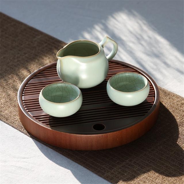 Round Tea Tray