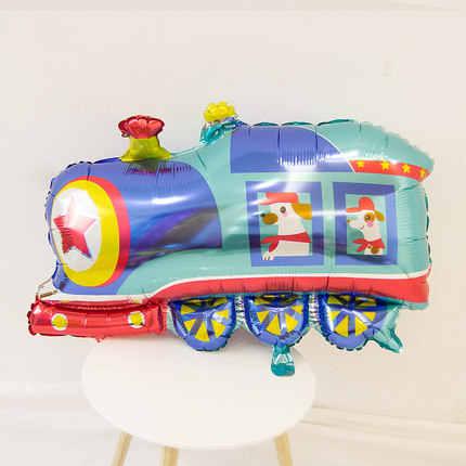 1 PC Mainan Besar Mobil Foil Balon Hadiah Tangki Pesawat Ambulans Bus Truk Pemadam Kebakaran Ulang Tahun Pesta Dekorasi Liburan Kartun balon