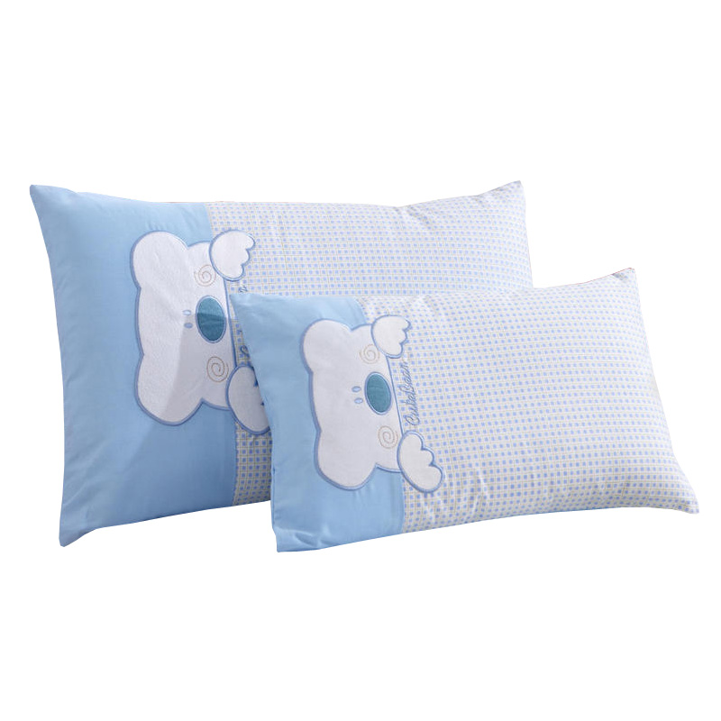 Comfortable Children Pillow For Room Decor Cute Bear Baby Pillow Soft Infant Neck Protection Pad Kids Sleep Support Cushion