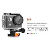 H9 Action Ultra Camera HD 4K UHD WiFi Video Camcorder 4K DV Camera Waterproof Helme Cam Camera 2.0 Screen Sports 1080p Camera