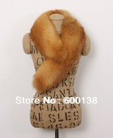 2013 New Style Real Red Fox Fur Collar Scarf 1321