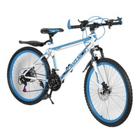 High Quality 26 Inch Bike Steel 7 Speed Aluminum Frame Mountain Bike Skateboard Pedal Oil Spring