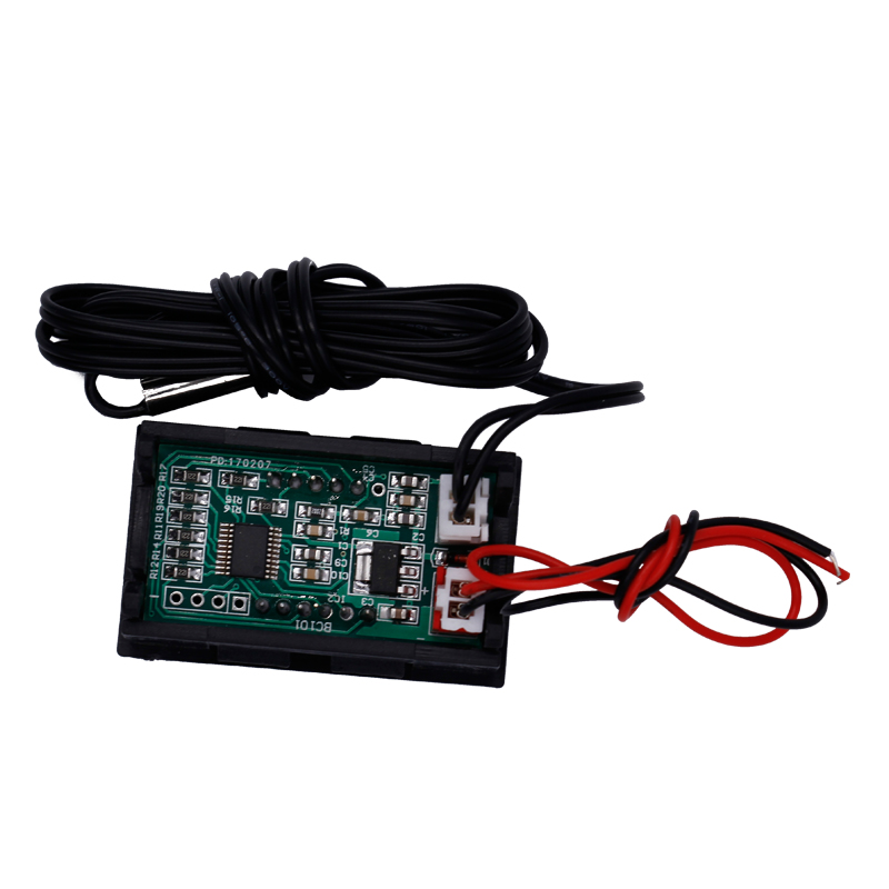NOWY 12 V Cyfrowy termometr Tester monitorowania temperatury z - Przyrządy pomiarowe - Zdjęcie 4
