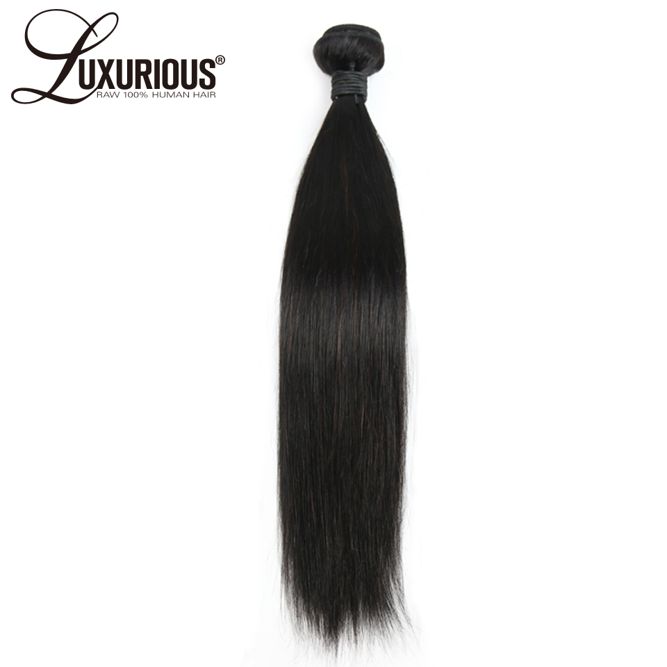 Luxurious 100% Brazilian Remy Hair Straight Hair Extension Human Hair Bundles 8-30Inch Natural Color Double Weft Free Shipping