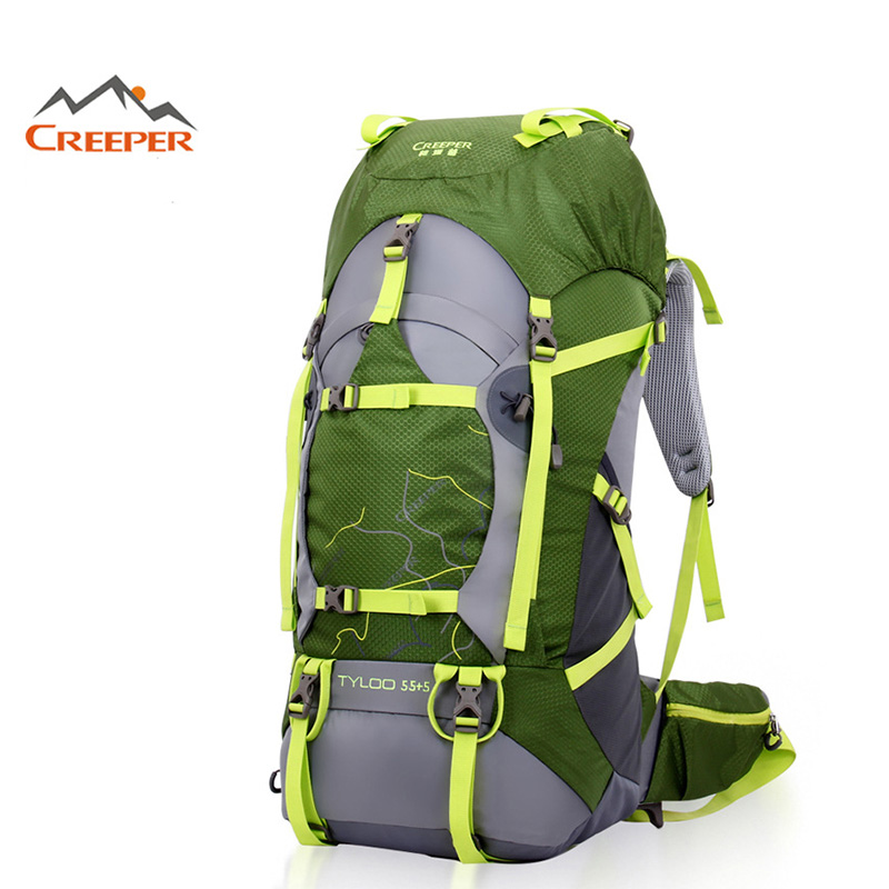 Creeper Outdoor Backpack Professional Waterproof Rucksack Climbing ...