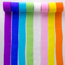 8 Rolls Crepe Paper Streamers Roll Garland Wedding Decoration Kids Birthday Rainbow Party Supplies Baby Shower 82ft