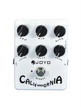 Joyo jf-15 de california sound eléctrica de efectos de guitarra pedal true bypass envío gratis