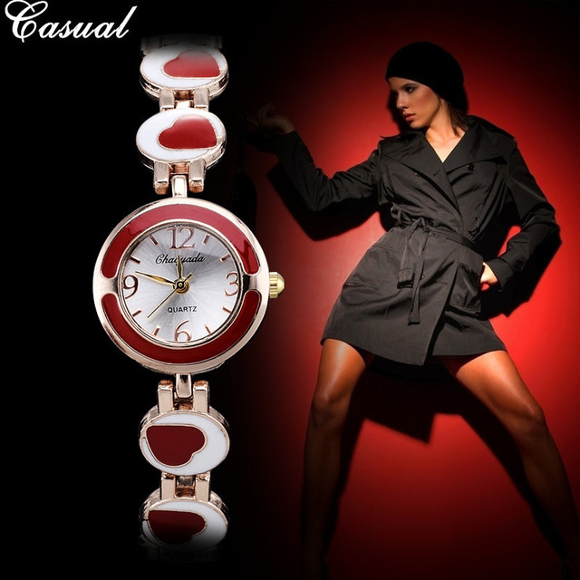 Women Wristwatch Quartz fashion & casual watch Bracelet Watches Ladies Feminino