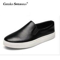 XIANG GUANG Genuine Leather Casual Shoes New Classic Men Women Shoes Outdoors Casual Men Shoes Fashion
