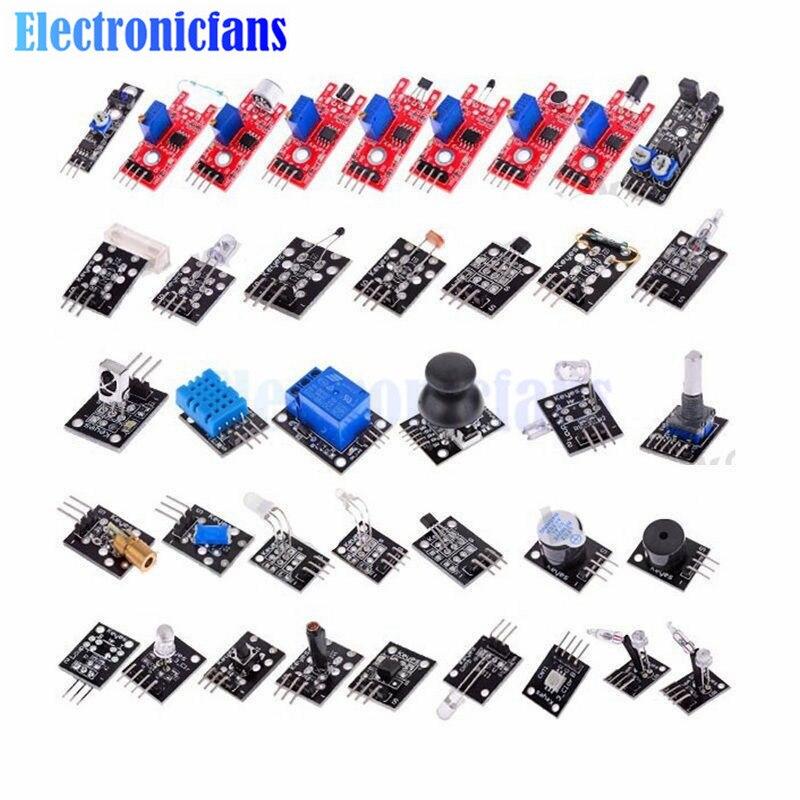 37 em Kits De Sensores Sensor de 37 1 Final Para Arduino Raspberry Pi Módulo Sensor de Aprendizado Iniciante Terno Final MCU Educação usuário