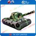 Inflável tanque veículo para publicidade/CAMO tanque inflável para CS