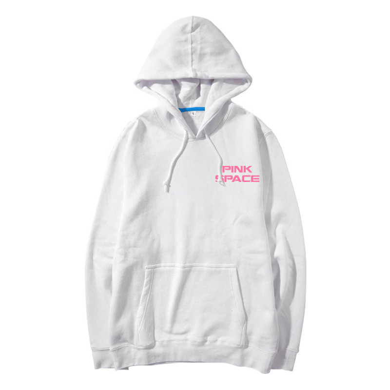 Apink pink  space concert same printing pullover hoodies autumn winter kpop Na Eun same fleecethin unisex loose sweatshirts bts