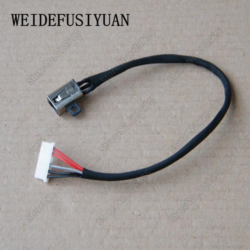 New Ac Dc Power Jack Wire Cable For Dell Vostro 3565 Inspiron 3567 P63f P47f: Dc Barrel Jack Wiring At Shintaries.co