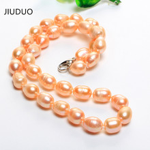 JIUDUO Jewelry Free shipping natural freshwater cultured pearl necklace female models beautiful gift wholesale manufacturers manufacturers wholesale all kinds of best lp guitars can be customized ems free shipping