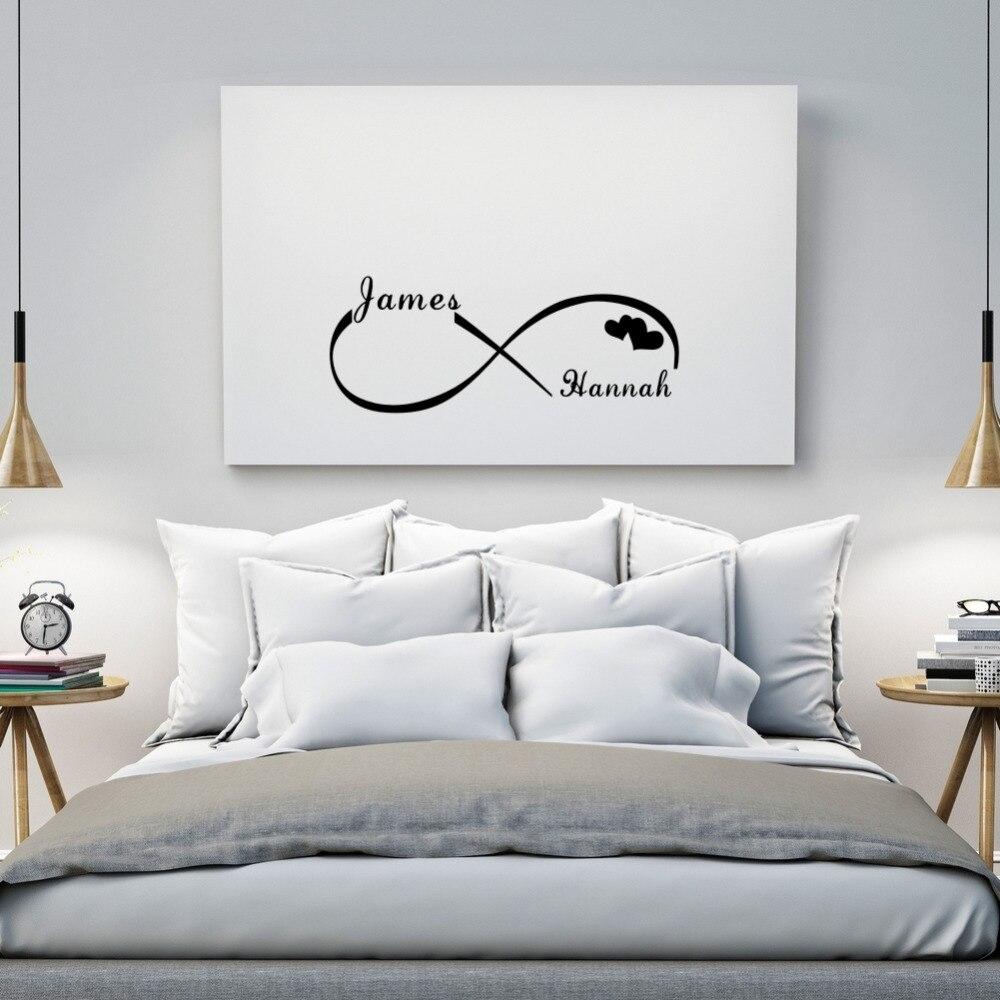 Custom Personalized Couple Name Creative Infinity Symbol ...