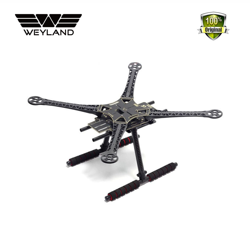 Weyland 500mm SK500 Quadcopter Multicopter rc Frame PCB Version with Carbon Fiber Landing Gear For FPV Gopro Gimbal F450 Upgrade цена