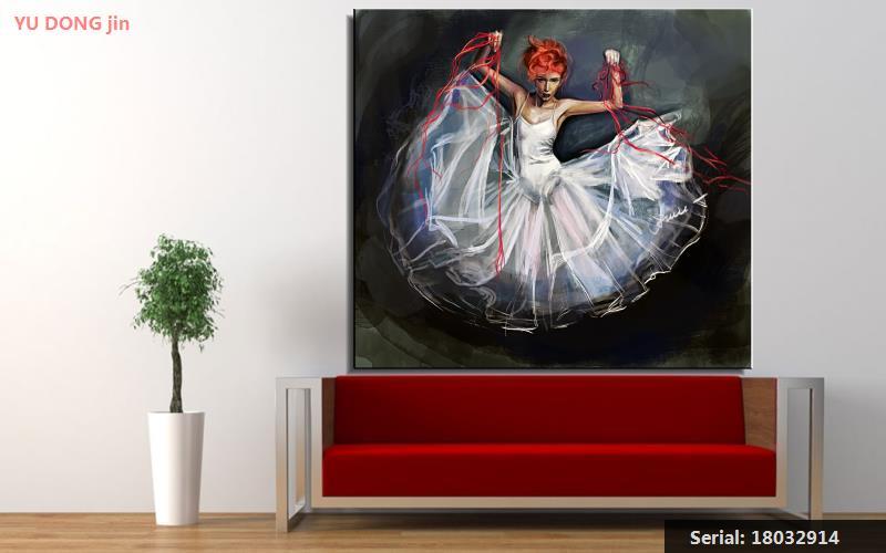 Slikarstvo Balet Mrtva priroda Sažetak ulje Slikarstvo Umjetnost - Kućni dekor - Foto 4