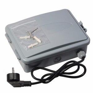 Image 3 - 11 stacji ogród automatyczne nawadnianie kontroler czasowy wyłącznik przepływu wody system nawadniania z standard ue transformator wewnętrzny #10469