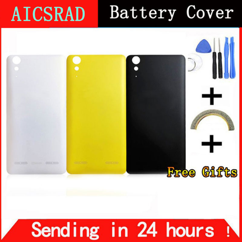AICSRAD For <font><b>Lenovo</b></font> <font><b>K3</b></font> <font><b>Note</b></font> back <font><b>cover</b></font> case replacement, Housing <font><b>battery</b></font> <font><b>cover</b></font> with side button for K50/T5/A7000 image