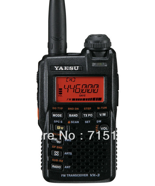 Yaesu VX-3R radio Ultra-compact Dual Band Handheld FM Transceiver/two way radio/yaesu interphoneYaesu VX-3R radio Ultra-compact Dual Band Handheld FM Transceiver/two way radio/yaesu interphone